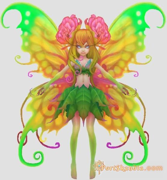 Stray Butterfly Fairy