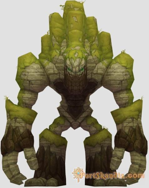 Otherworld Old Mine Golem