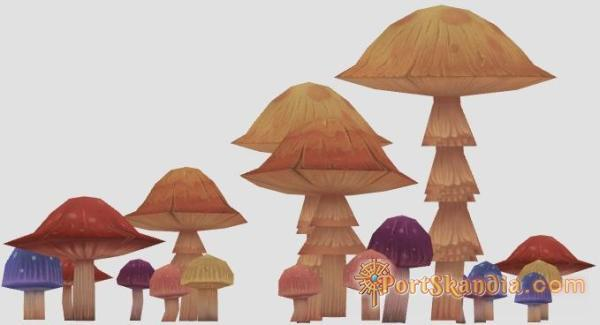 Talking Mushrooms